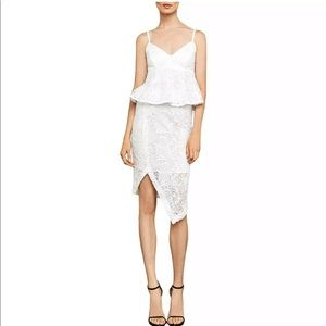 BGBG MAxAzria lace pencil skirt